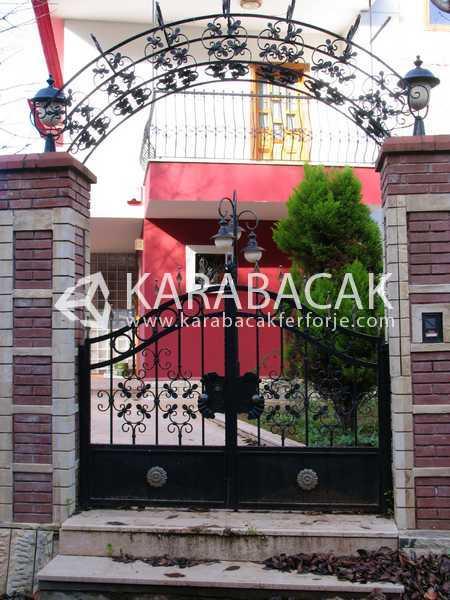 Ferforje Bahçe Giriş Kapısı