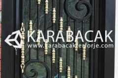Ferforje Villa Kapısı