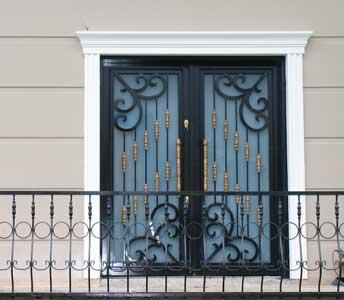Ferforje Villa Kapıları